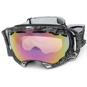 Oakley SPLICE Jet Black Silver Ghost Text VR50Pink