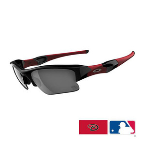 Oakley FLAK JACKET XLJ Arizona Diamondbacks Black